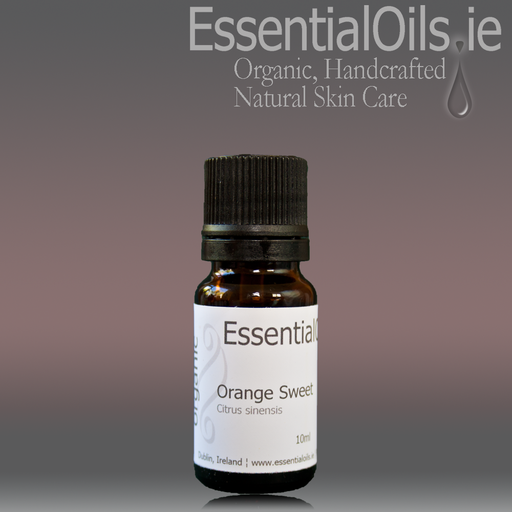 Sweet Orange Pure Essential Oil (organic)